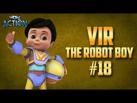 Vir: The Robot Boy | Hindi Cartoon Compilation For Kids | Compilation 18 | WowKidz Action thumbnail