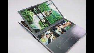 Свадебная фотокнига фотографа. Демонстрируем страницы свадебной книги wedding book