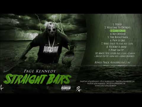 PAGE KENNEDY - STRAIGHT BARS FULL Mixtape