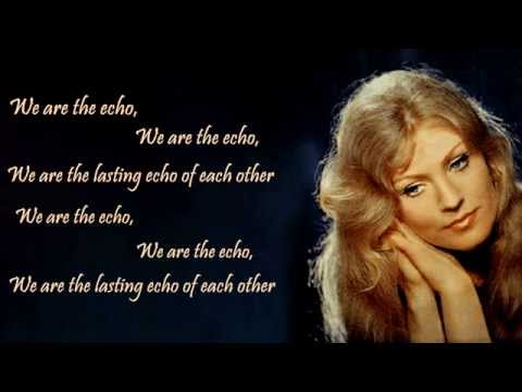 Anna German & Lev Leshchenko - The Echo Of Love - With Lyrics (translated)