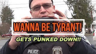 WANNA BE TYRANT GETS OWNED! PT.1