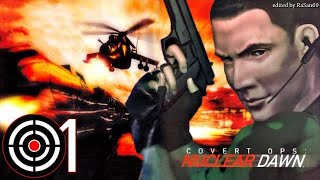 Covert Ops - Nuclear Dawn (PS1) walkthrough part 1
