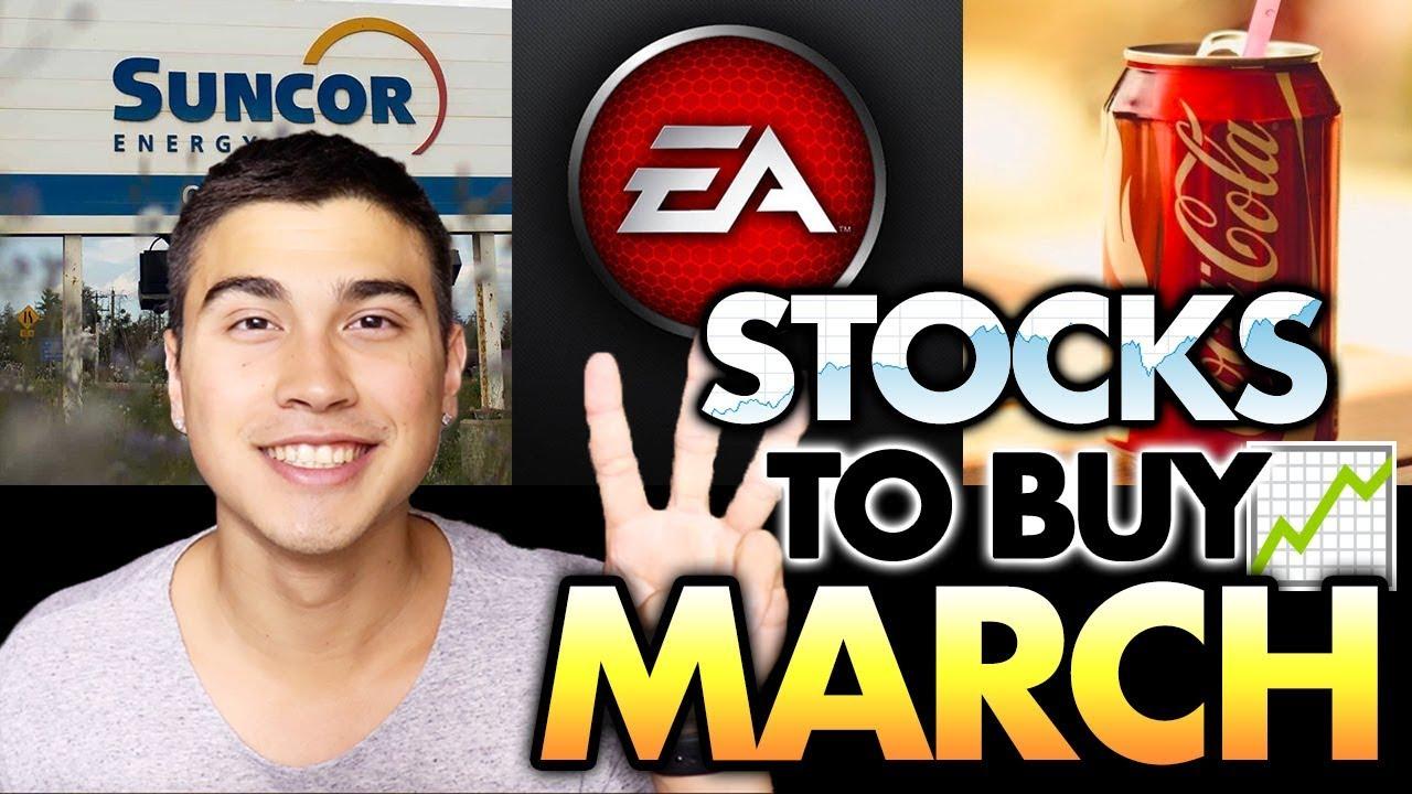 3 stocks to buy
