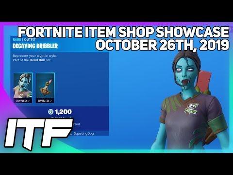 Fortnite Item Shop *NEW* ZOMBIE SOCCER SKINS!  [October 26th, 2019] (Fortnite Battle Royale)