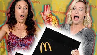 Unboxing a McDonalds MYSTERY Box!!