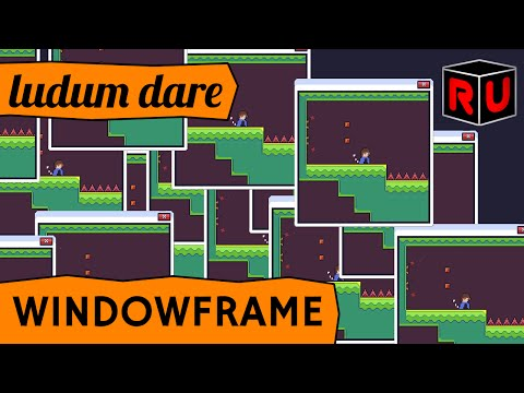 Windowframe gameplay: Overall winner of Ludum Dare 35 game jam [48-hour compo]