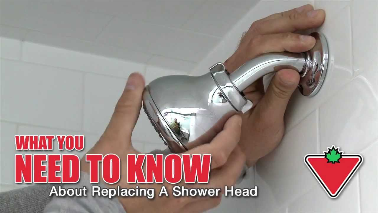 How to Replace a Shower Head - YouTube