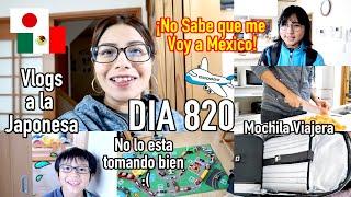 Mañana Viajo y No Lo Esta Tomando Bien   + Mochila Viajera JAPON -  Ruthi San ♡ 29-10-19