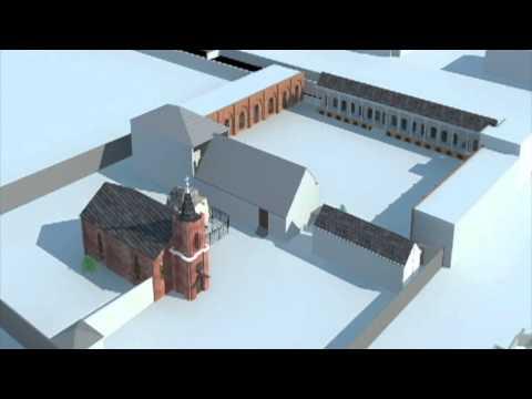 St Louise School in Tehran - 3D Model