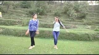 Fyonladiya (Garhwali Song) dance performed by two Sisters (Vaishali & Seeya)
