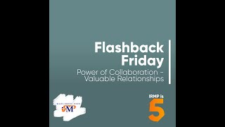 Power of Collaboration - Valuable Relationships #FlashbackFriday