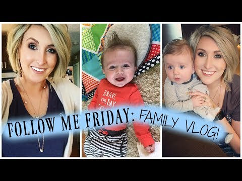 Follow Me Friday VLOG | Nursery Changes! | Summer Whitfield