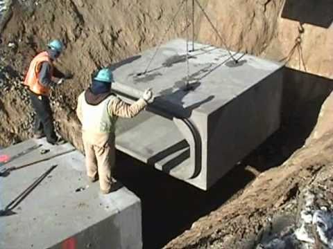 Tylox Superseal Gasket Box Culvert Project Youtube