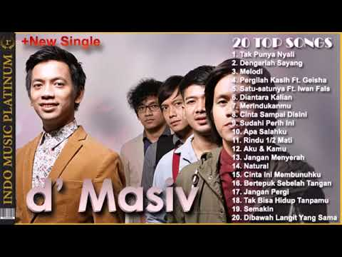 D' MASIV THE BEST OF ALBUM - FULL ALBUM