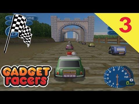 Gadget Racers (Part 3) - Lakeside Castle S Course
