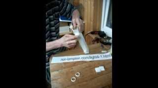Мастер класс, как сделать светильник из кабель канала(Совсем не трудно сделать своими руками 2-ламповый потолочный светильник из кабель-канала. Антикризисный,..., 2012-05-01T09:53:59.000Z)