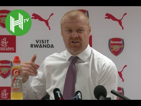 Arsenal 3-1 Burnley I Angry Sean Dyche slams Arsenal's 'diving and cheating'
