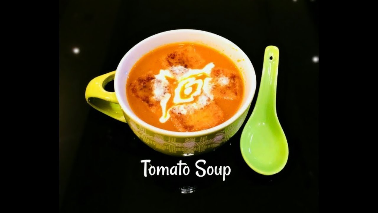 How to Make Homemade Fresh Tomato Soup Indian Style