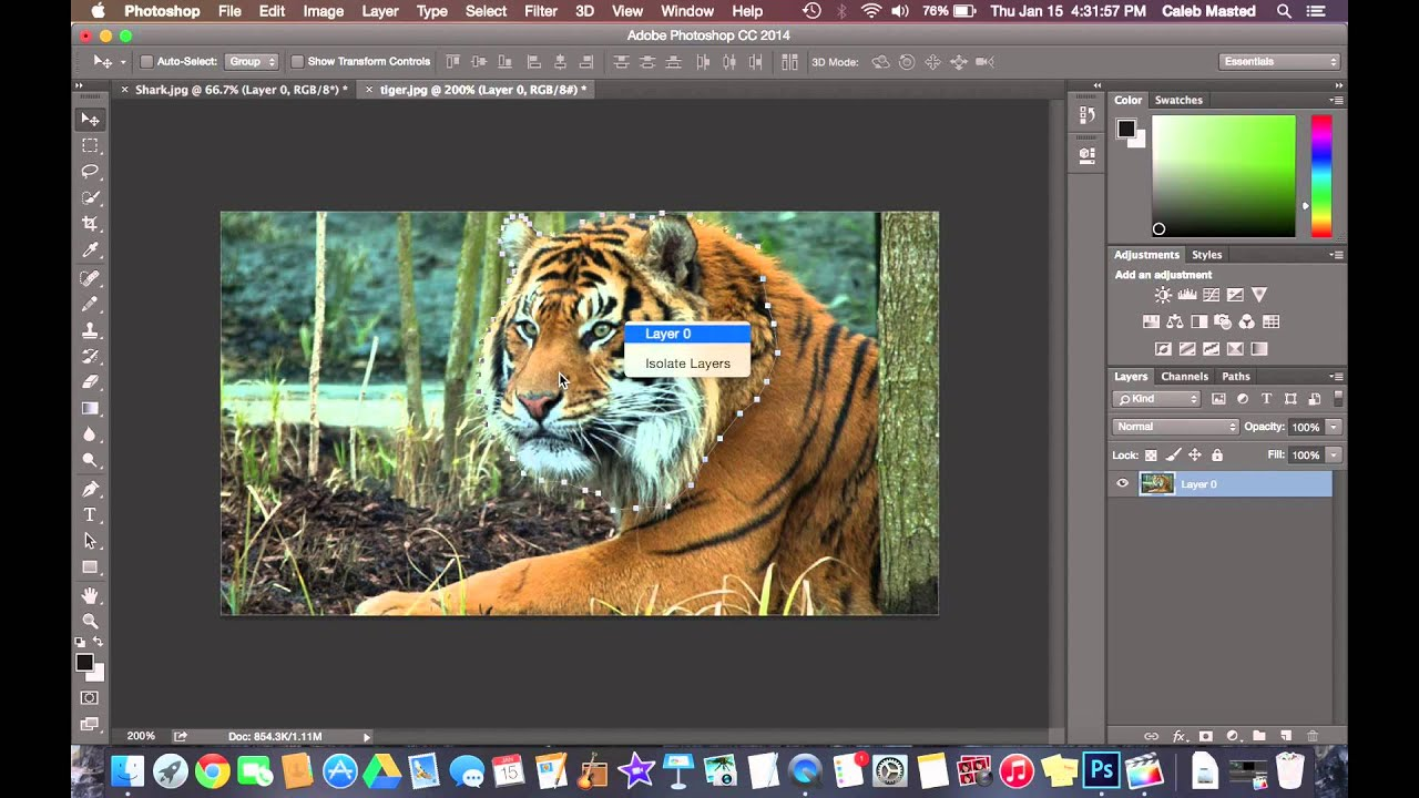 how to cut someone out of a picture in photoshop