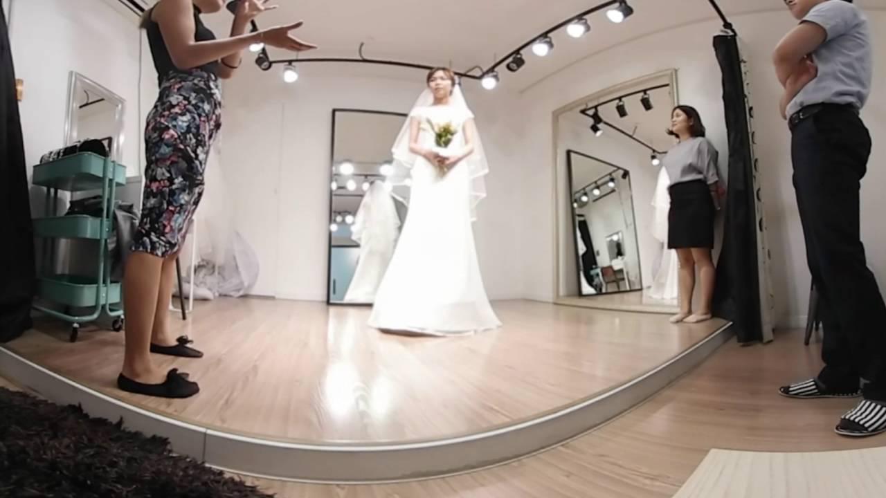 Vr 360 Wedding Ceremony: 청담동 결혼식 드레스샵 투어 VR. Wedding Dress Tour. 360 VR Video