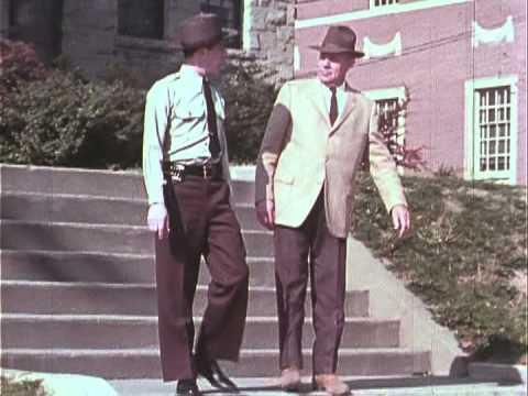 U.S. Government - FBI - The Techniques and Mechanics of Arrest - Training Film - 1960