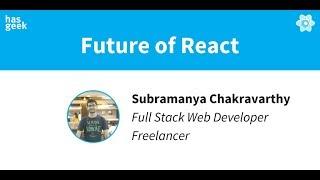 Future of React