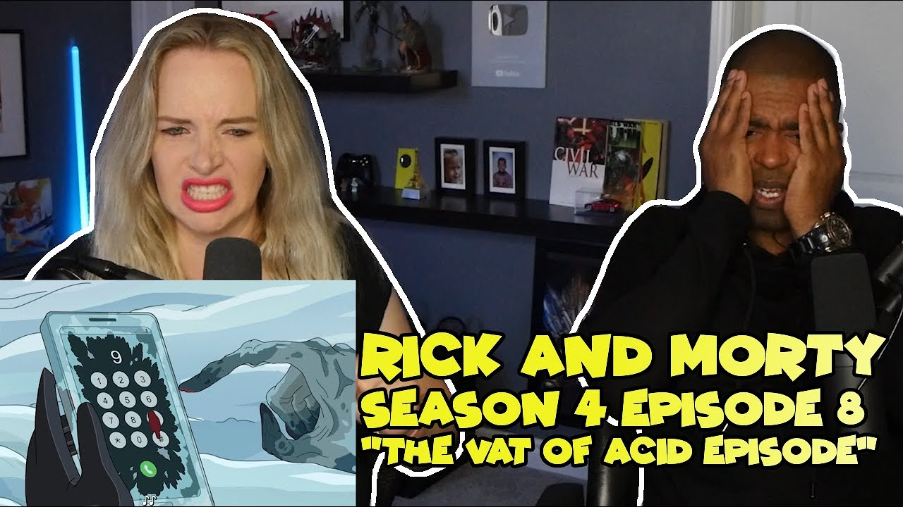 "Download Rick and Morty Season 4 Episode 8 ""The Vat of Acid Episode"" (Jane and JVs REACTION 🔥)"