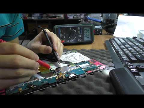 Не включается / Не заряжается. Планшет Samsung GT-P5100 GalaxyTab 2 10.1