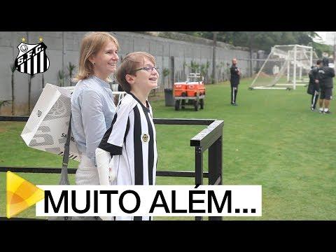 #MUITOALÉMDOFUTEBOL: Emanuel visita o CT Rei Pelé