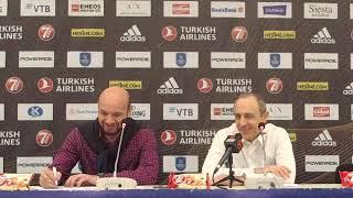 Anadolu Efes - AX Armani Exchange Milan Basın Toplantısı