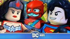 LEGO Justice League Cosmic Clash | Mecha Leaguer! | DC Kids