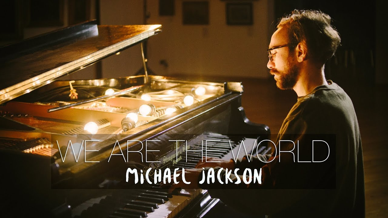 We Are The World Michael Jackson Piano Cover Costantino Carrara Youtube