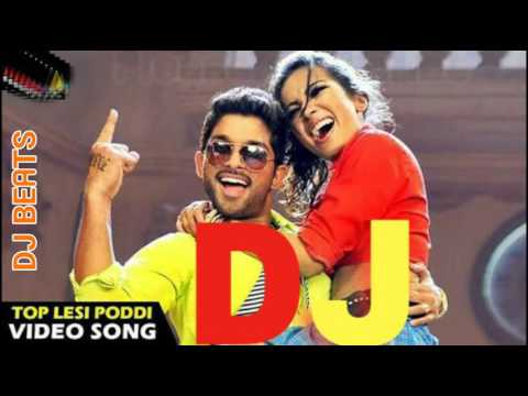 Top Lesi Poddi Tapory Dj Remix Song Allu Arjun, Catherine |
