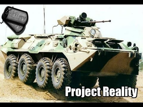 Project Reality Russian BTR - 80