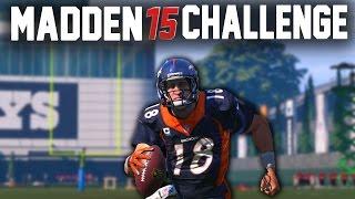 Madden 15 NFL Challenge - Peyton Manning 99 Yard Rushing Touchdown!