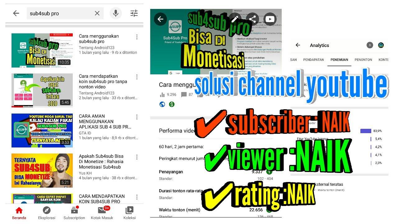 Tips banyak viewer dan subscriber di youtube
