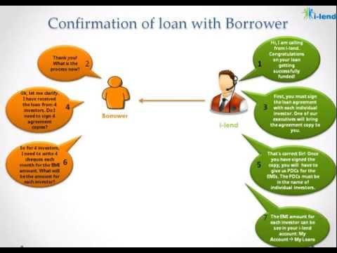 Peer to Peer Loans Offline Process - I-Lend