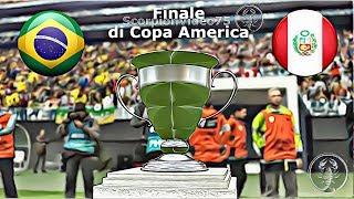 PES 2019 • Brasile 🆅🆂 Perù Gran Finale di Copa America • Patch [Giù]