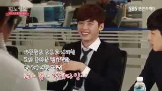 [BTS] Making of Pinocchio drama Ep4 - Lee Jong Suk