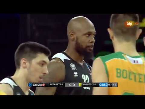 2017-10-18; Temporada regular, jornada 2; Bilbao Basket 91 - Limoges CSP 98 (TDP HD)