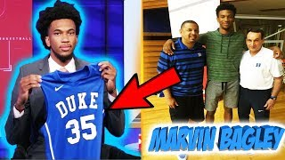 #1 RECRUIT MARVIN BAGLEY COMMITS TO DUKE