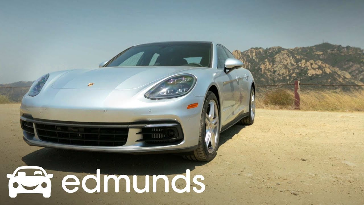 2017 Porsche Panamera 4s Review Edmunds