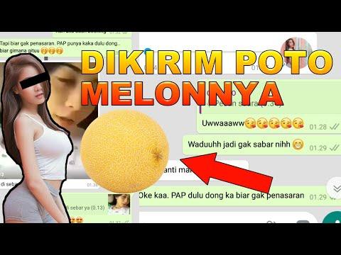 CHAT PSK OPEN BO MALAH DIKIRIMIN MELON!!! UWAAAWW PRANK TEXT