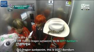 Video [SUBBED] 150702 BIGBANG on MCD Finding A Star in An Elevator with GOT7's BamBam download MP3, 3GP, MP4, WEBM, AVI, FLV Juni 2018