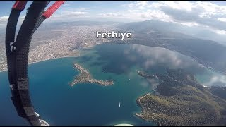 Oludeniz: good autumn 80km fly. November 2017.