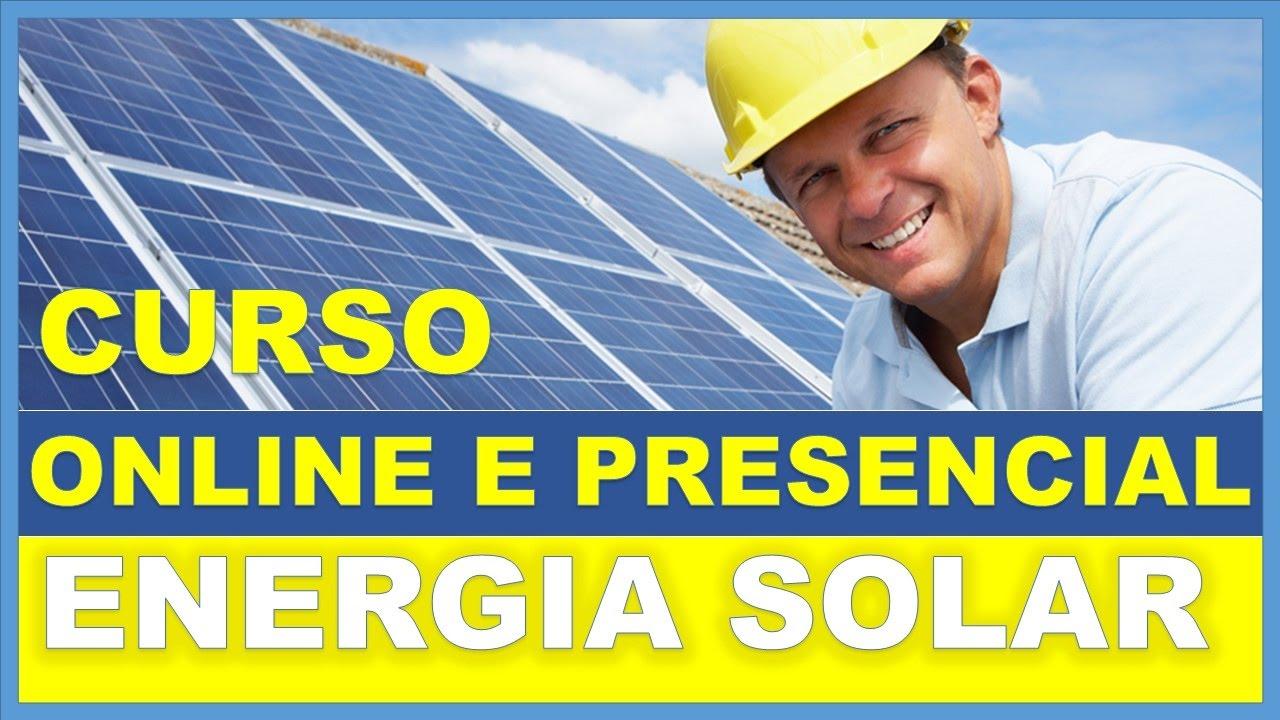 Resultado de imagem para curso de energia solar fotovoltaica