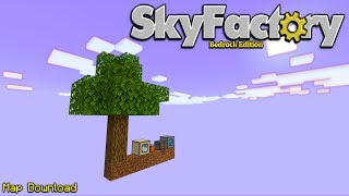 Minecraft Bedrock Edition: SkyFactory 1.12.0 Map W/Download
