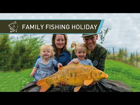 Alan Blair's Family Fishing Holiday - Carp Fishing