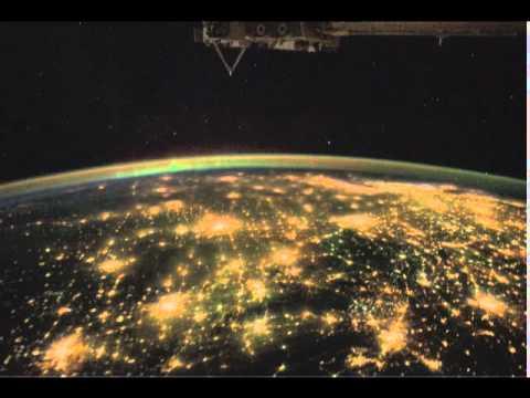 Leuchtende Städte - Flug über Mexico Und Die USA