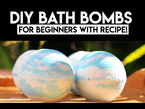 DIY | Bath Bombs for Beginners with Recipe!